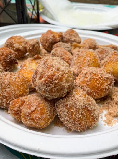 homemade donuts on a plate