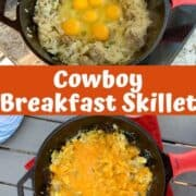 Cowboy Breakfast Skillet: Breakfast In Cast Iron Skillet