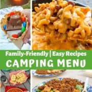 camping menu ideas