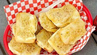 Easy Camping Garlic Bread