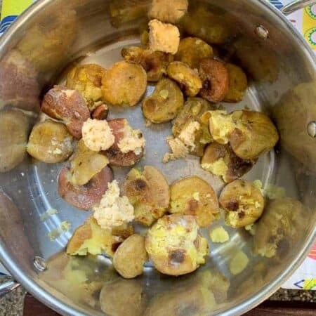 make ahead roasted potatoes