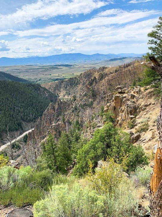 The Colorado scenery visible while staying at a dude ranch Colorado, Colorado ranch, family dude ranch, Colorado ranch vacations