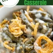 Campbells soup green bean casserole crockpot