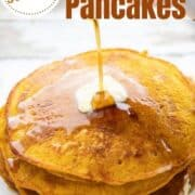 simple from scratch pumpkin pancakes