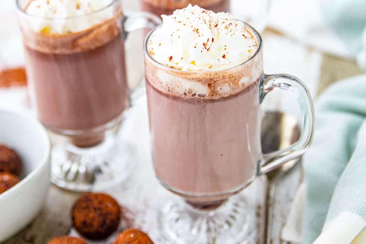 The Best Hot Chocolate Recipe Hot Chocolate Bombs Jodi