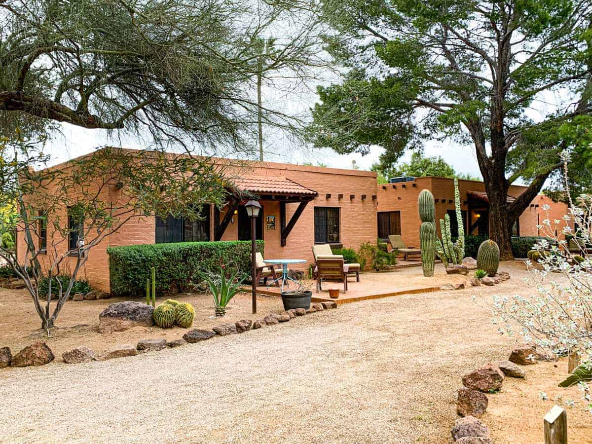 White Stallion Ranch, the Best All-Inclusive Resort in Arizona showing a family friendly dude ranch.
