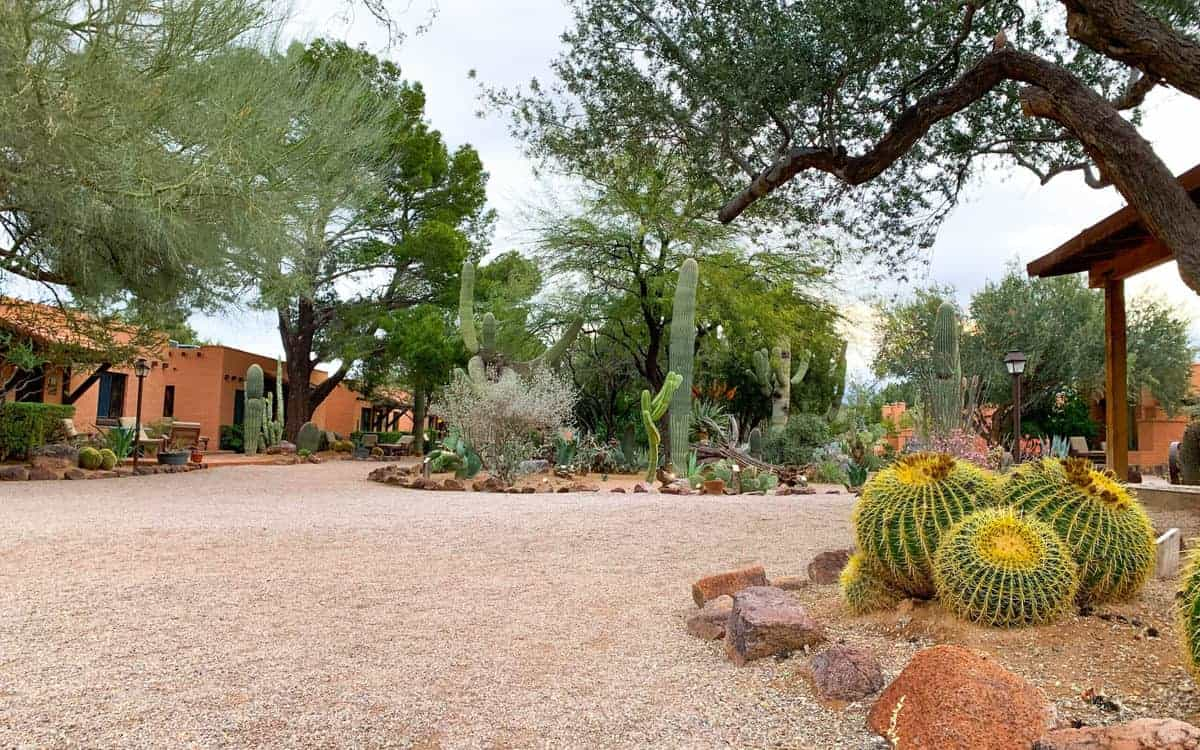 White Stallion Ranch, the Best All-Inclusive Resort in Arizona showing the guest rooms.