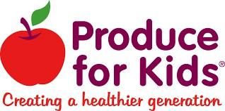 logo produce for kids
