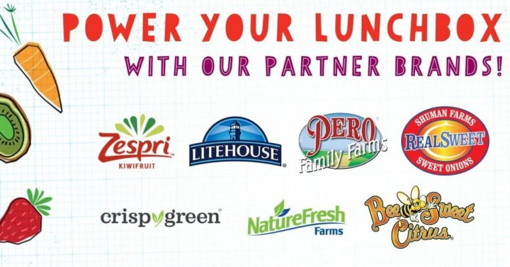 Power your lunchbox sponsor list.