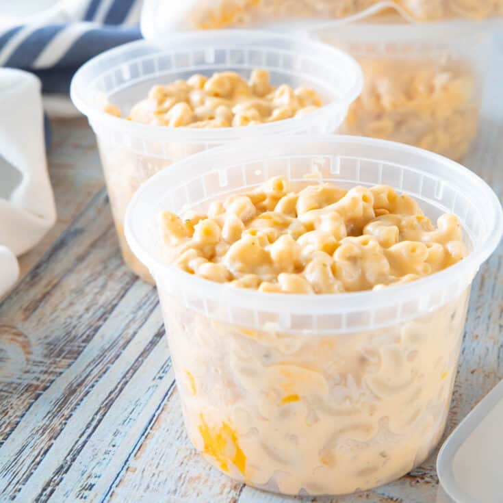How To Freeze Mac and Cheese (& reheat it too!)