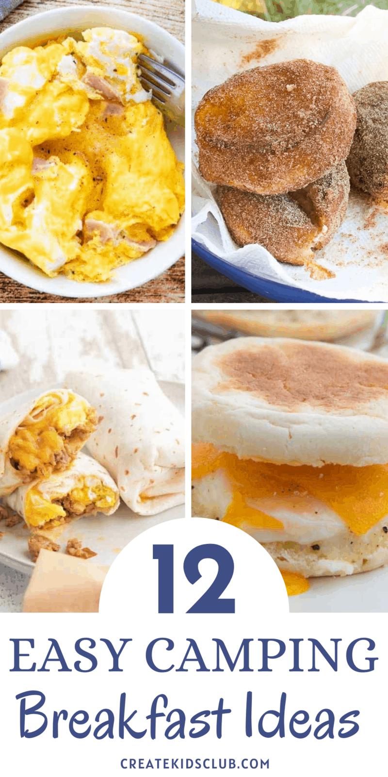 12 Easy Camping Breakfast Ideas