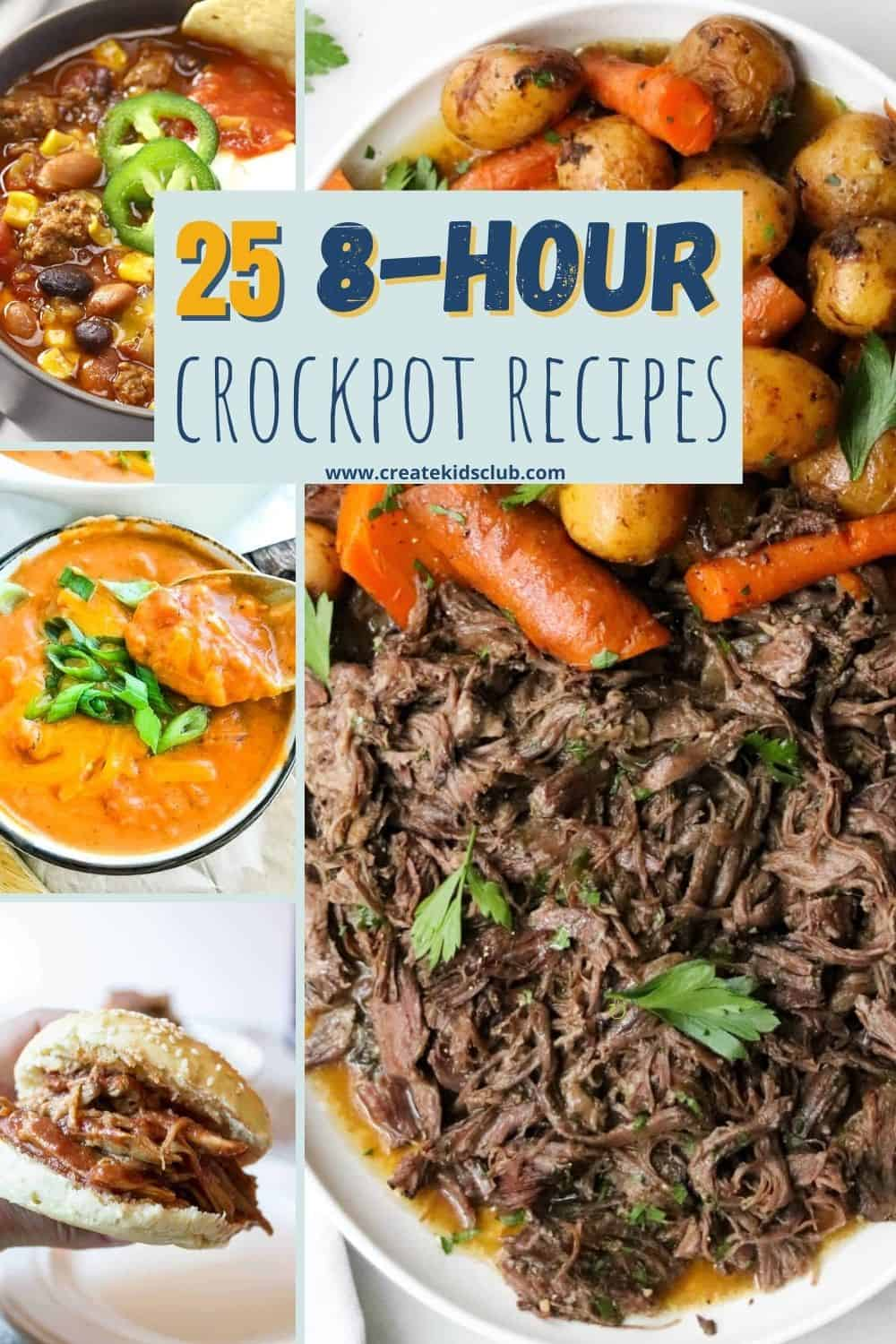 8 Hour Crockpot Recipes All Day Slow Cooker Recipes