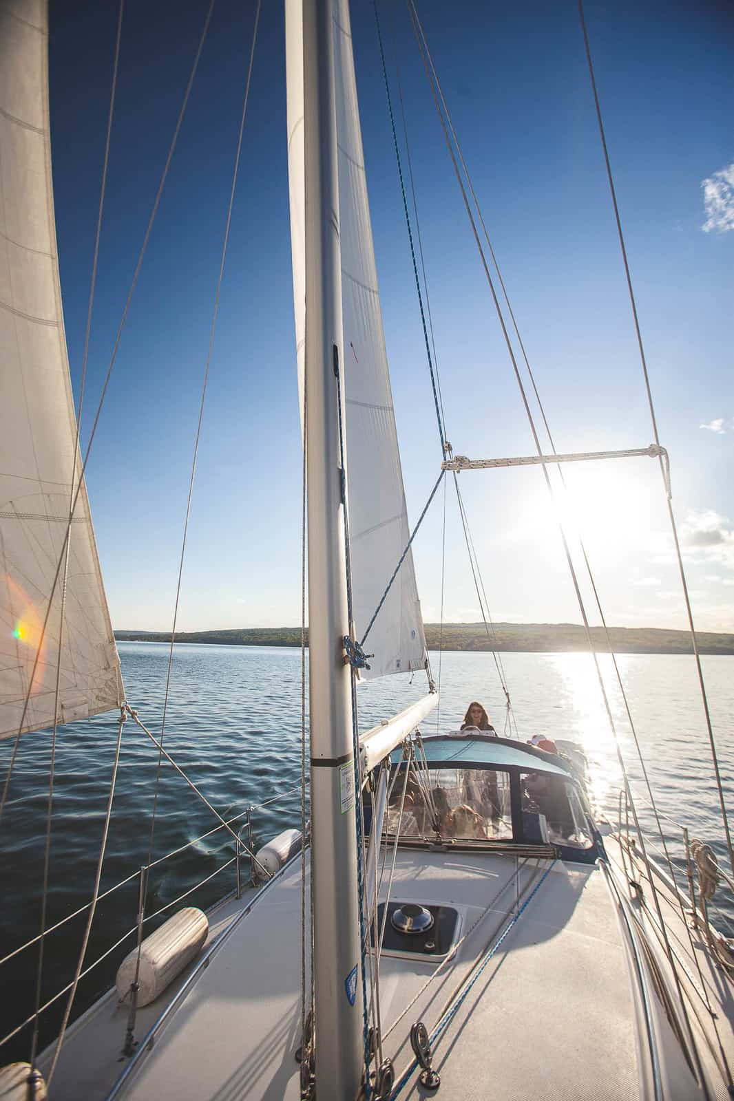 sailboat on Lake Superior