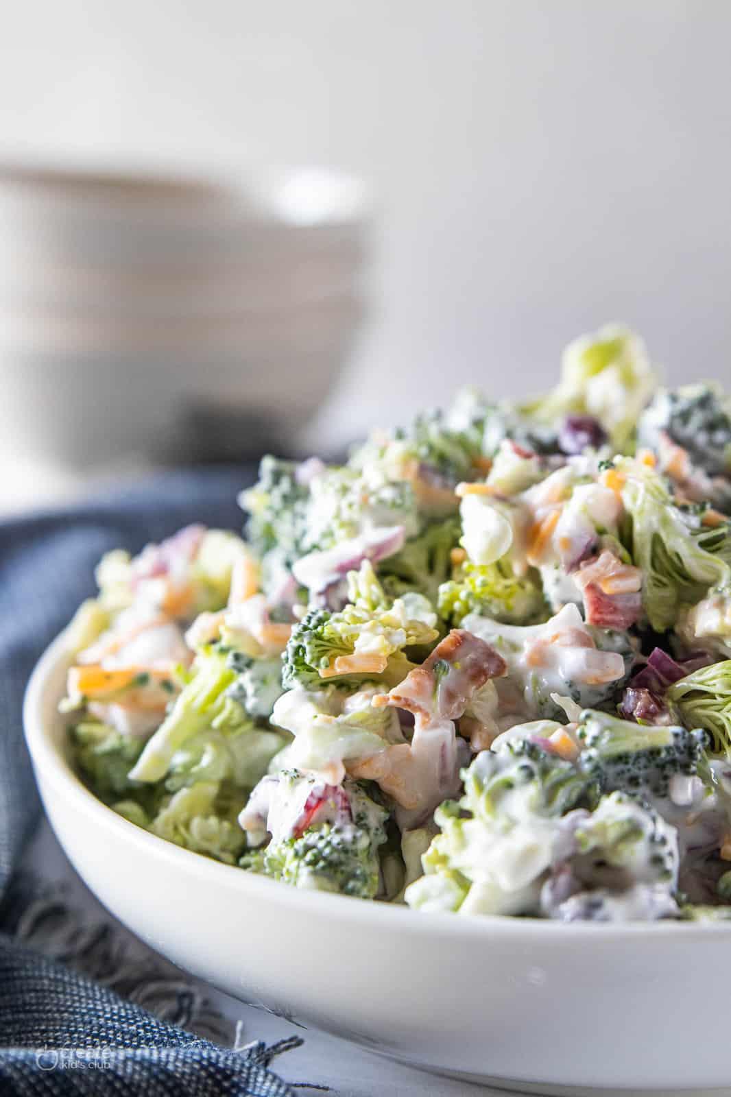 easy broccoli salad without mayo-06