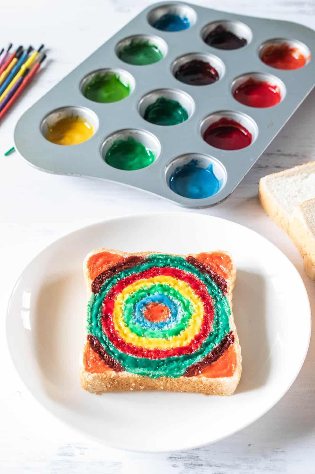 edible paint for toddlers