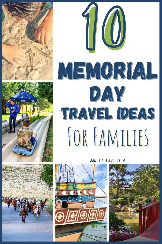memorial day travel ideas