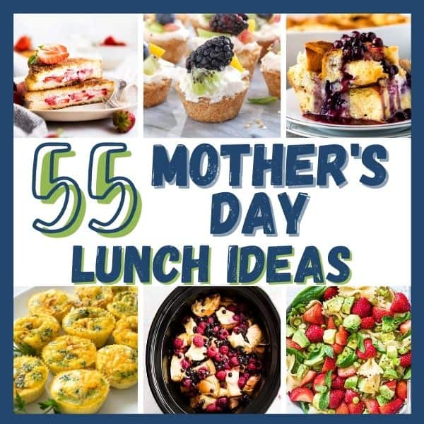 mothers day lunch ideas