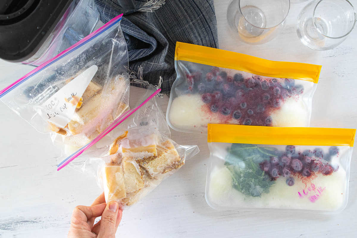 freezer smoothie packs in bags