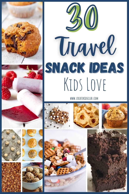 travel snack ideas kids love