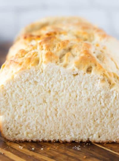 baked bread loaf