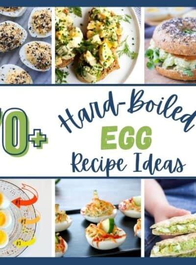 hard boiled egg recipe ideas