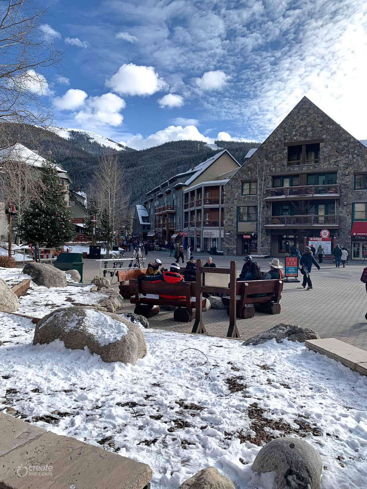 shopping center in Colorado