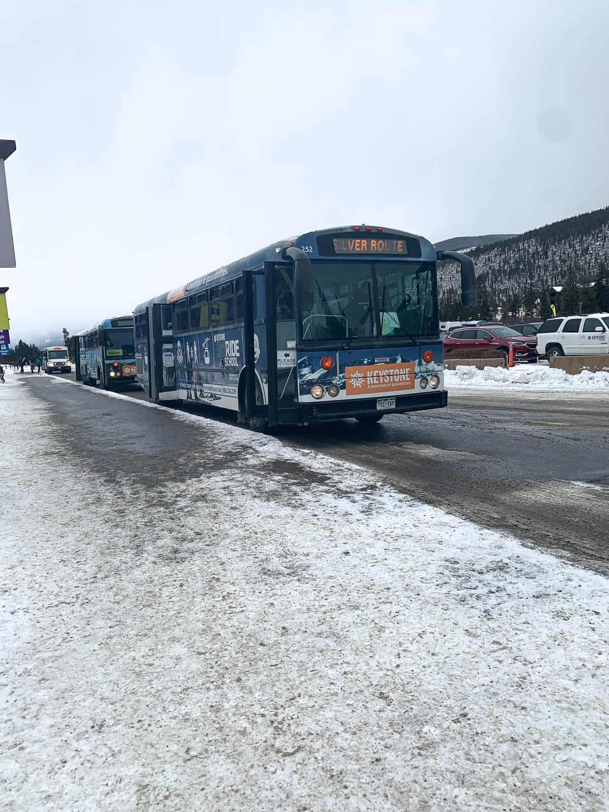 keystone charter bus