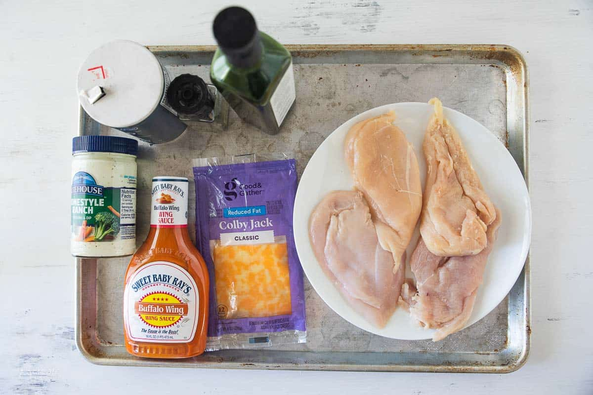 ingredients for buffalo chicken breast