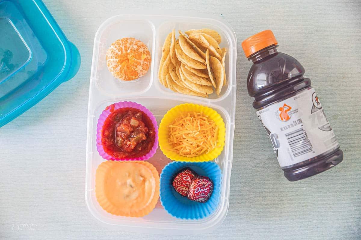 homemade lunchbox