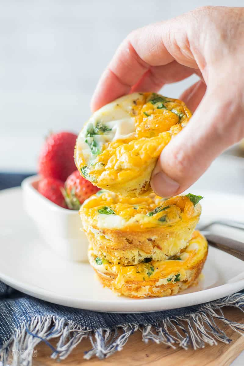 egg muffins with veggies