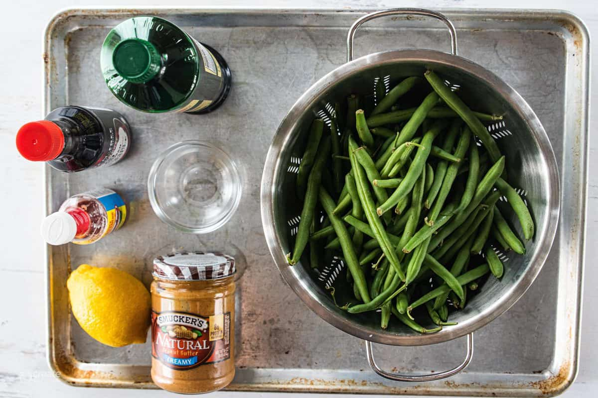 ingredients for green beans for kids