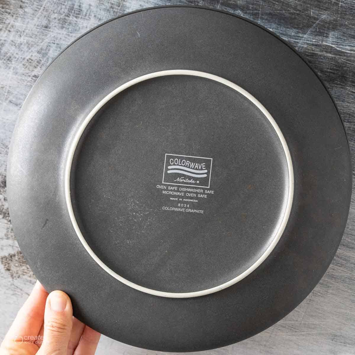oven safe plate